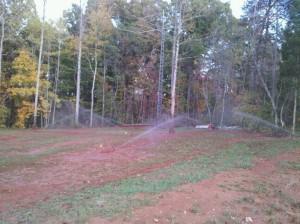 Irrigation Install 1